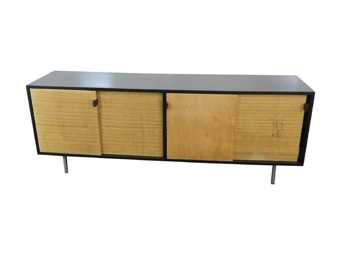 KNOLL EBONIZED SIDEBOARD