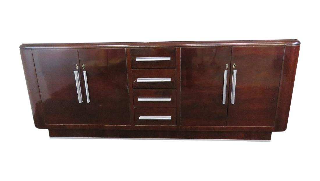 FRENCH DECO ROSEWOOD CREDENZA