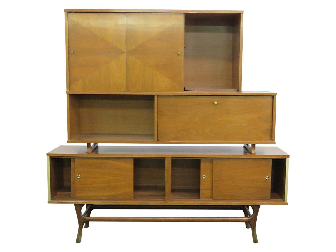 MCM CREDENZA with SUPER STRUCTURE