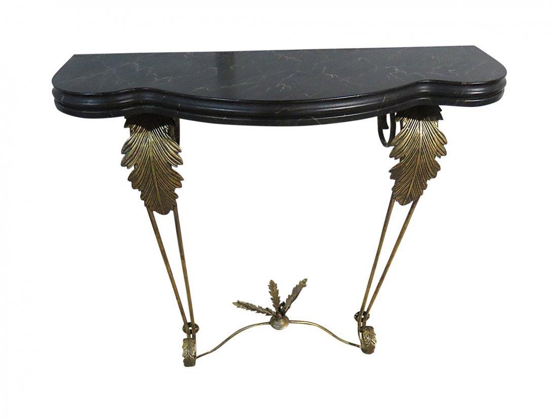 RENAISSANCE STYLE CONSOLE TABLE