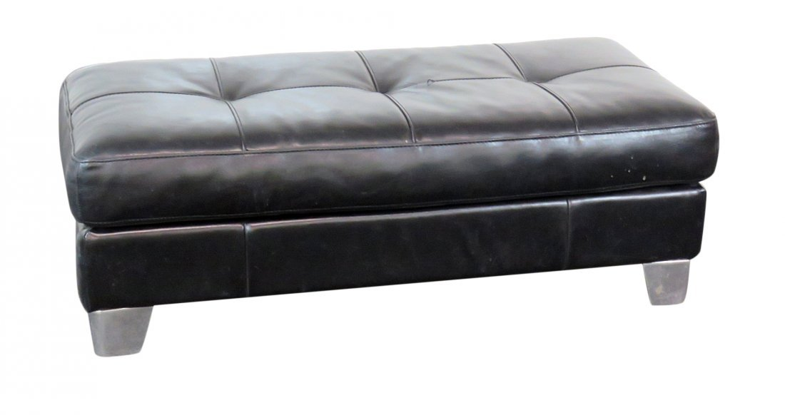 MCM LEATHER BENCH attr. NATUZZI