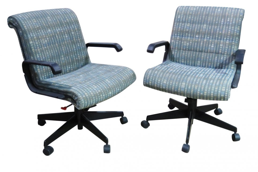 Pair KNOLL OFFICE CHAIRS