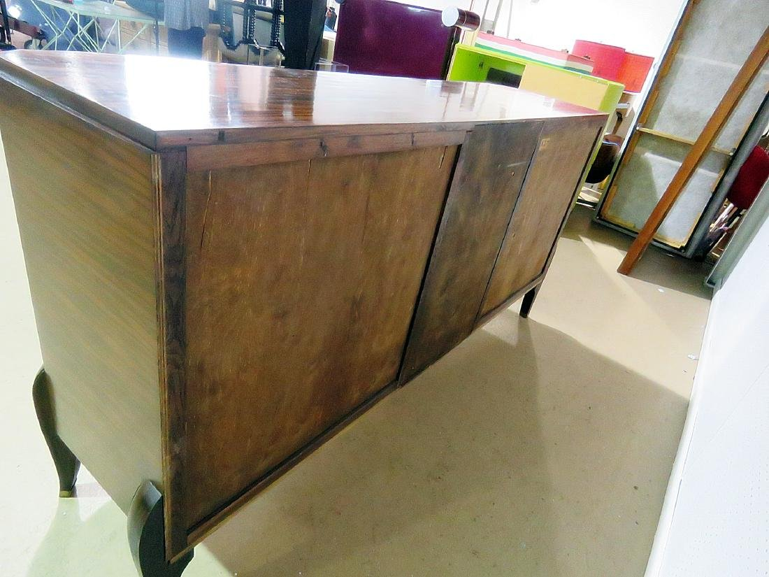 FRENCH DECO MIRRORED FRONT CREDENZA manner RUHLMANN - 8