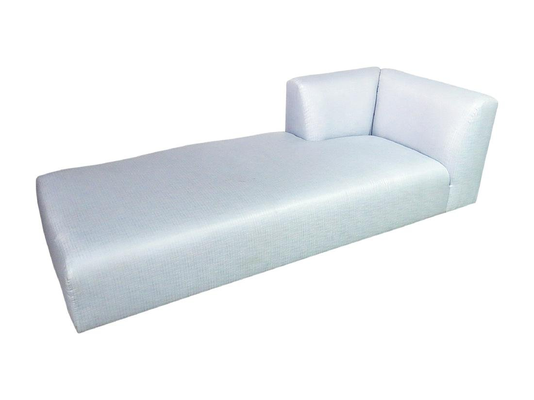 KARL SPRINGER STYLE CHAISE LOUNGE