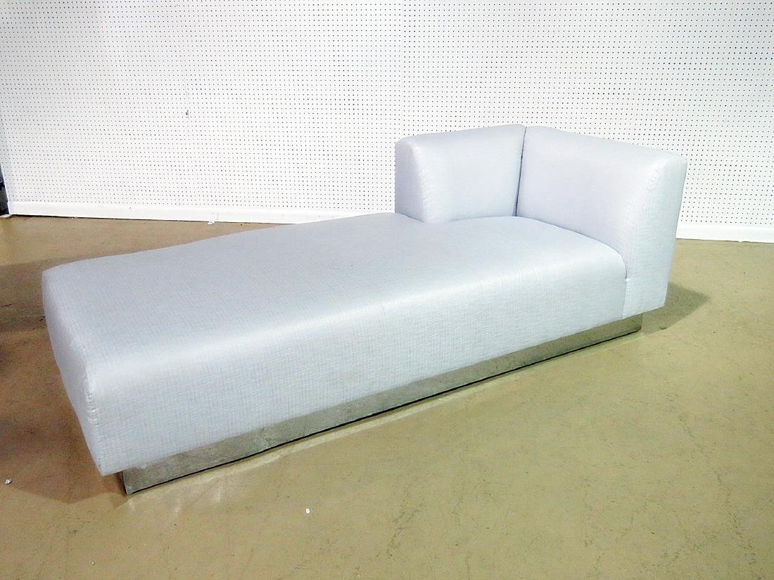 KARL SPRINGER STYLE CHAISE LOUNGE - 2
