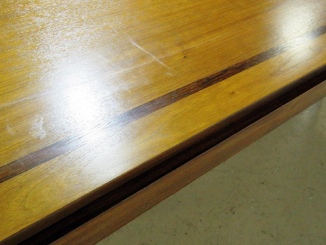 NEW HOPE SCHOOL MCM TABLE with LUCITE BASES - 9