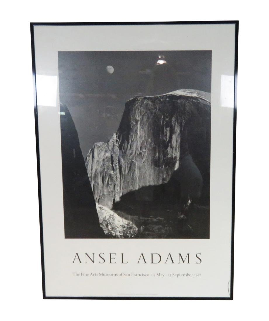 ANSEL ADAMS FRAMED PRINT