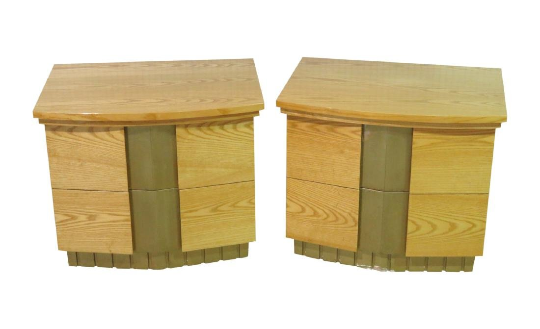 Pair KAGAN STYLE NIGHT STANDS