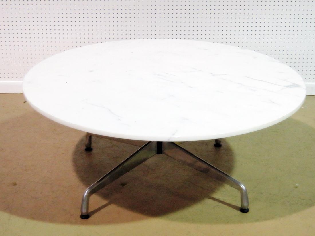 MARBLE TOP COFFEE TABLE attributed HERMAN MILLER - 6