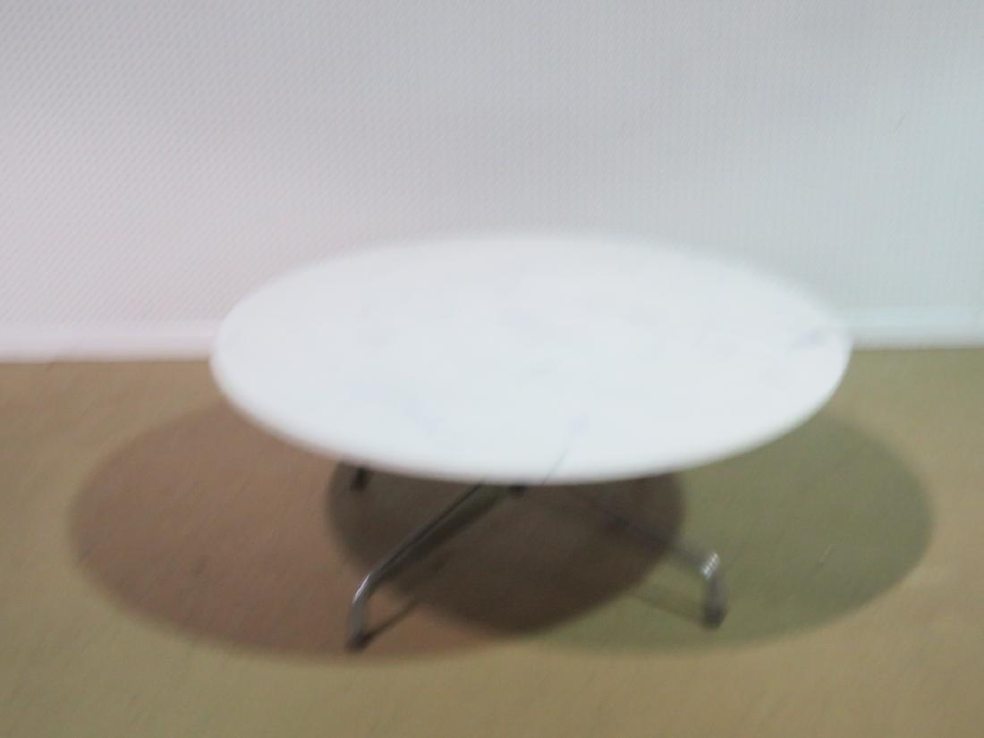 MARBLE TOP COFFEE TABLE attributed HERMAN MILLER - 5
