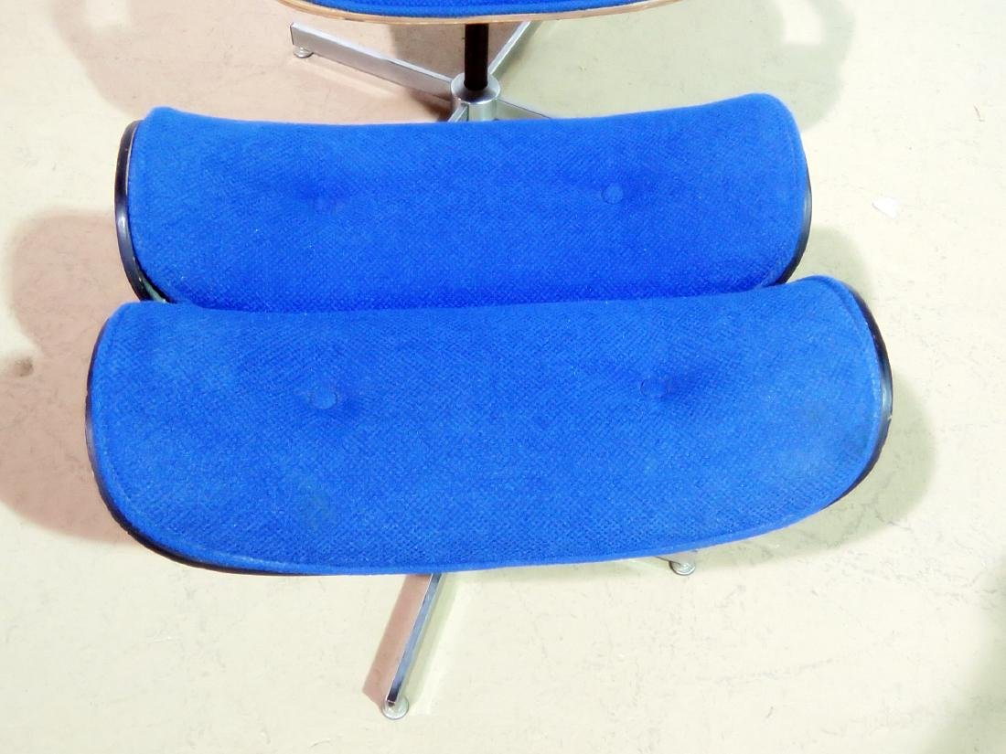 GEORGE MULHAUSER for PLYCRAFT LOUNGE CHAIR & OTTOMAN - 3