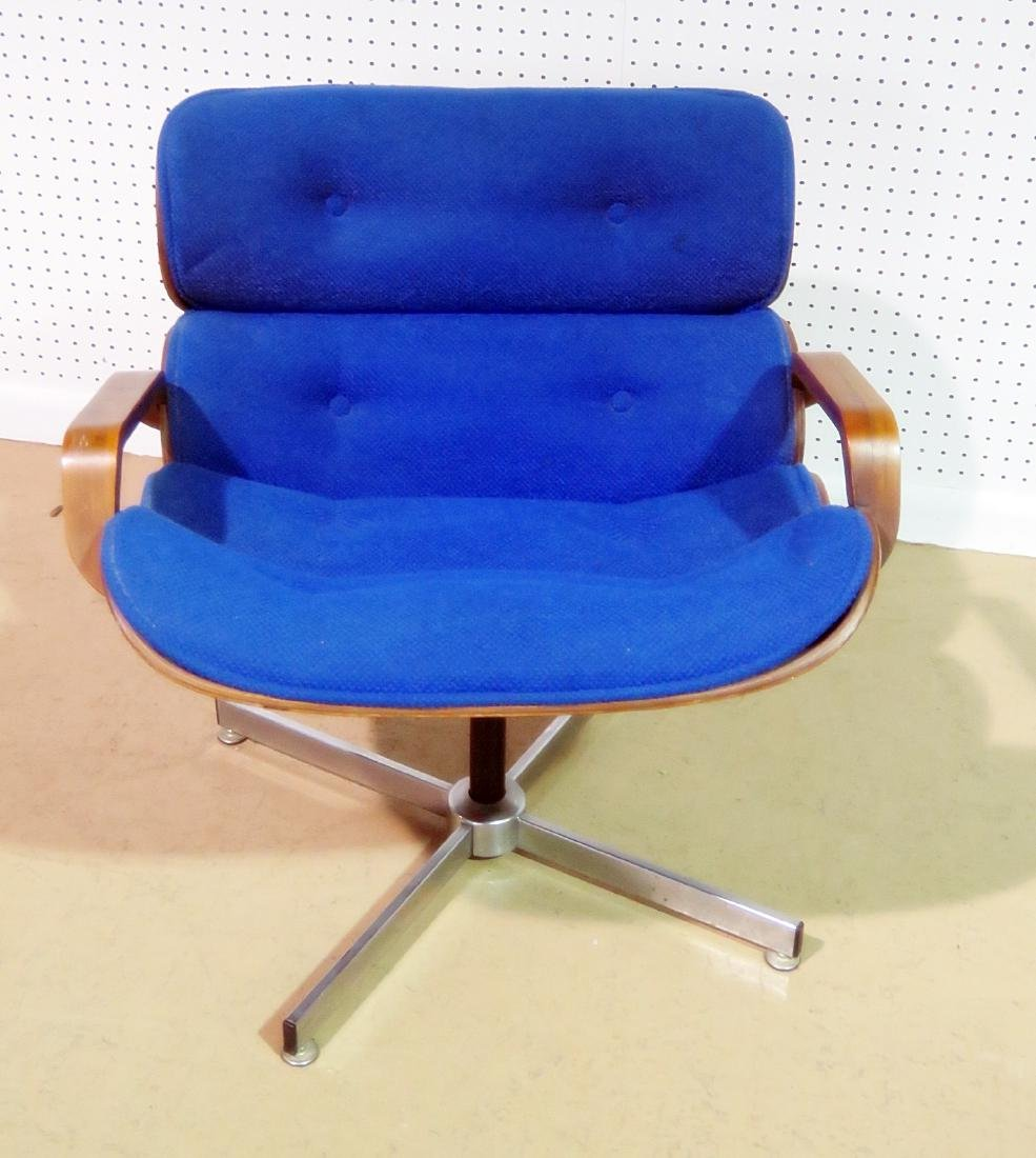 GEORGE MULHAUSER for PLYCRAFT LOUNGE CHAIR & OTTOMAN - 5
