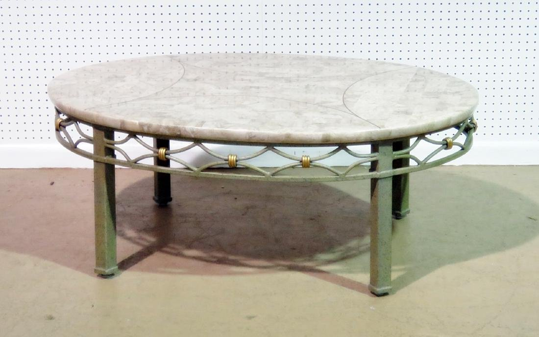 DESIGNER TESSELLATED TOP COFFEE TABLE - 2