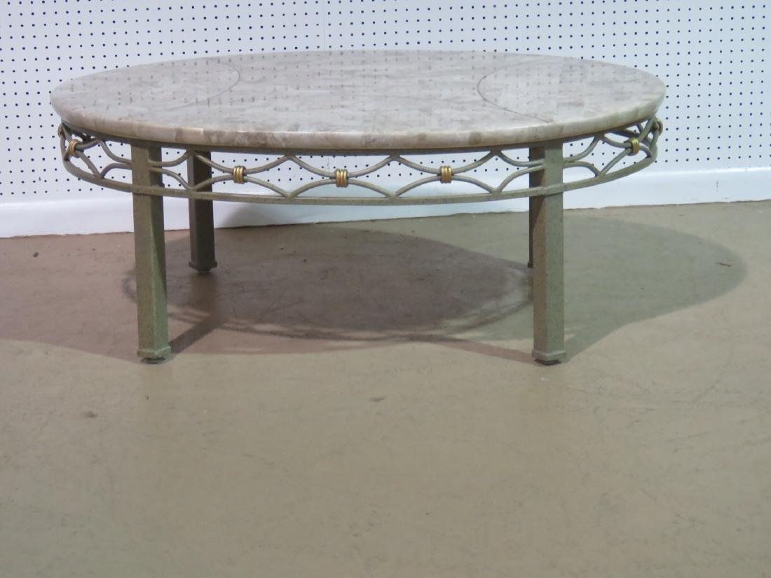 DESIGNER TESSELLATED TOP COFFEE TABLE - 3