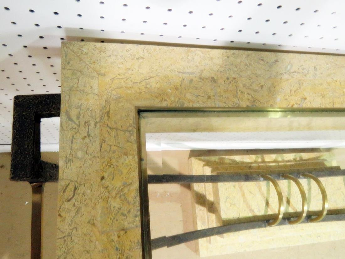 MODERN DESIGN CONSOLE TABLE with MIRROR - 8