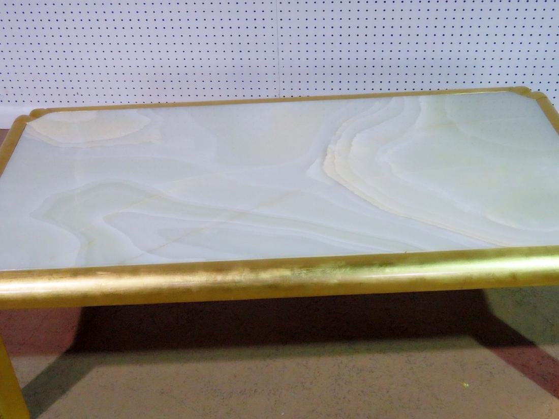HOLLYWOOD REGENCY STYLE COFFEE TABLE - 3
