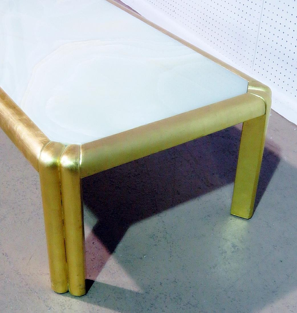 HOLLYWOOD REGENCY STYLE COFFEE TABLE - 4