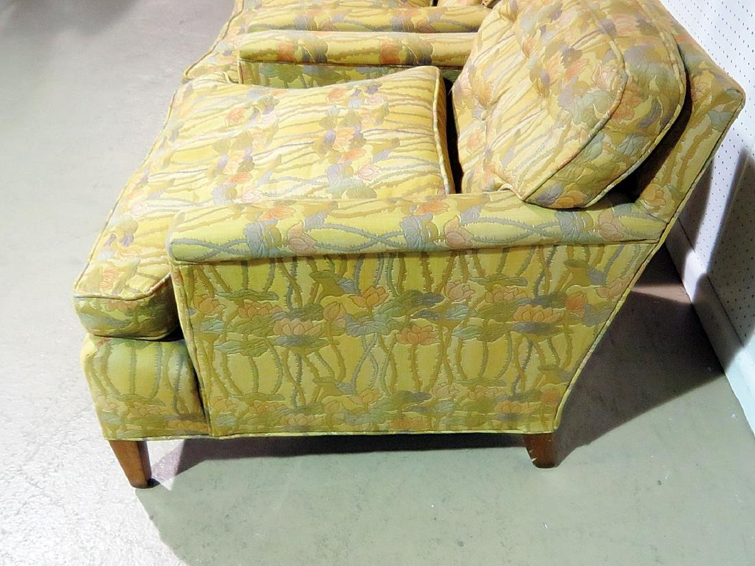 Pair UPHOLSTERED CLUB CHAIRS attributed to DUNBAR - 10