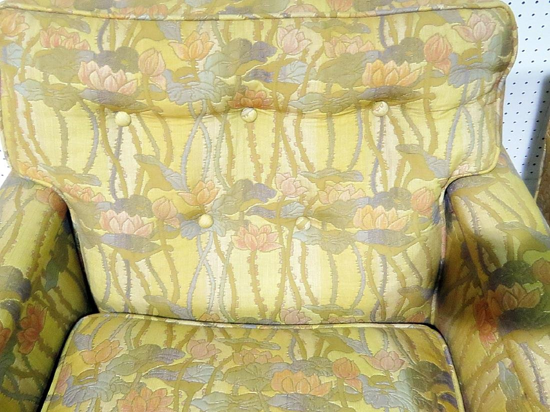 Pair UPHOLSTERED CLUB CHAIRS attributed to DUNBAR - 7