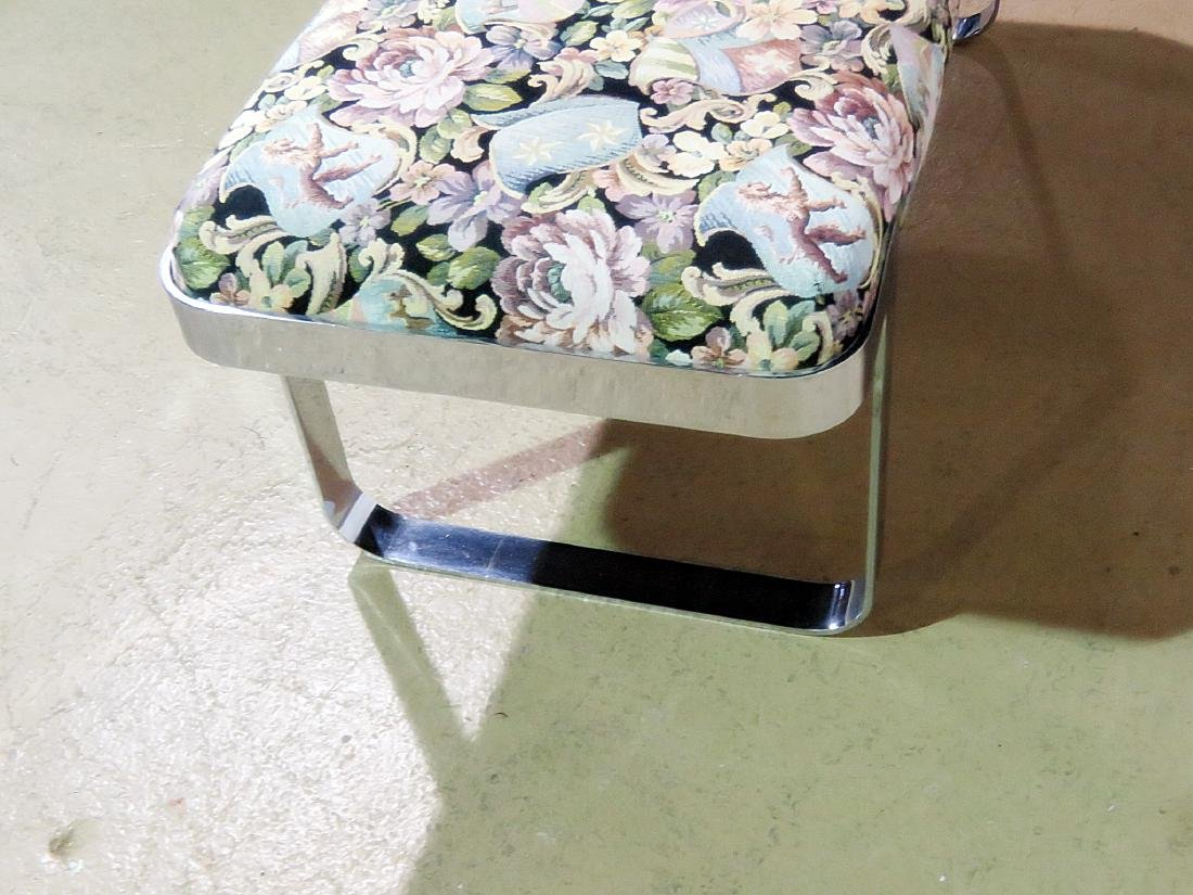 BAUGHMAN STYLE UPHOLSTERED BENCH - 5
