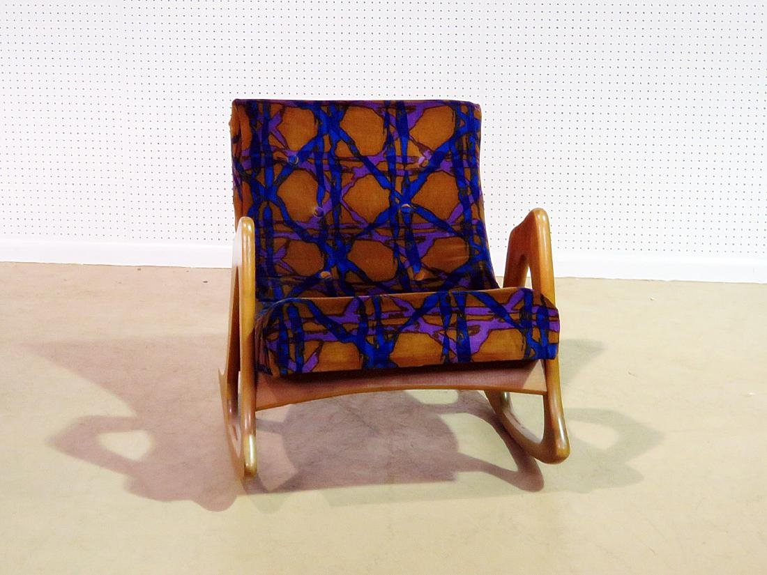 ADRIAN PEARSALL ROCKING CHAIR - 2