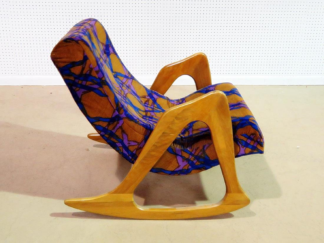ADRIAN PEARSALL ROCKING CHAIR - 3