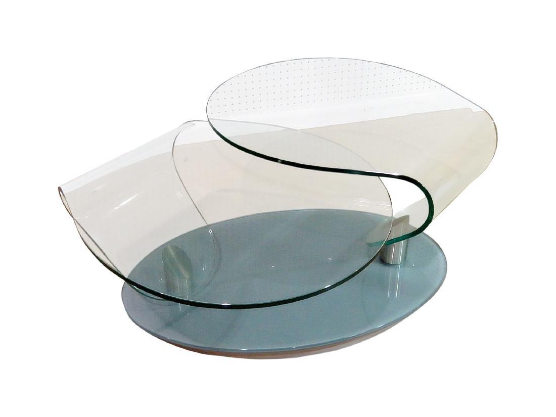 MID CENTURY DESIGN FREE FORM COFFEE TABLE