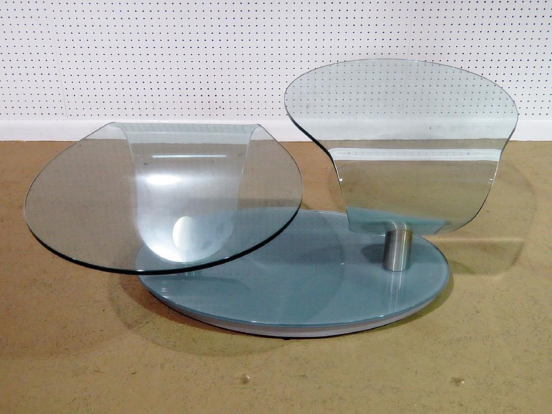 MID CENTURY DESIGN FREE FORM COFFEE TABLE - 3