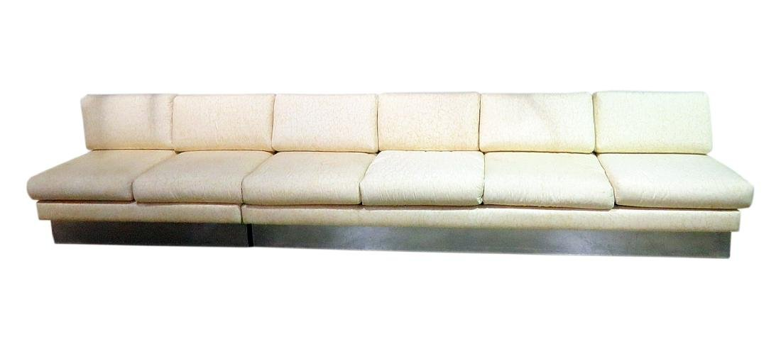 KARL SPRINGER STYLE SECTIONAL SOFA