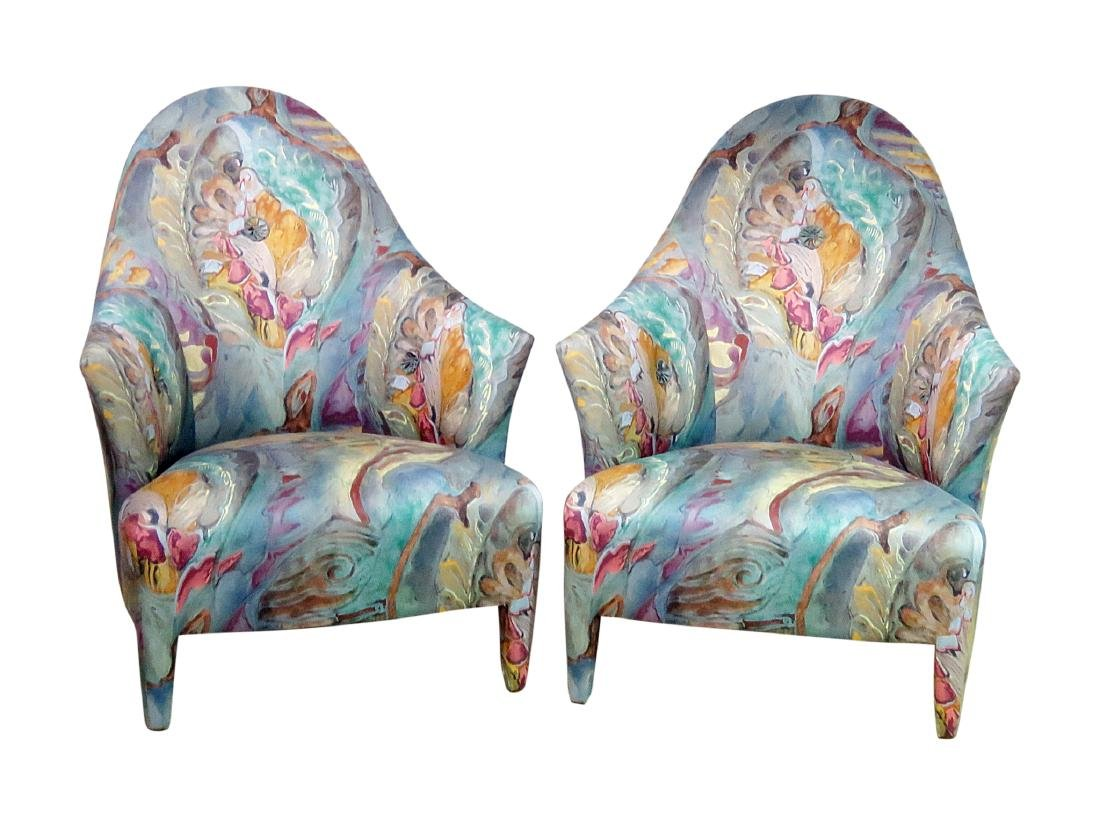 "Pair ""GHOST CHAIRS"" by DONGHIA"