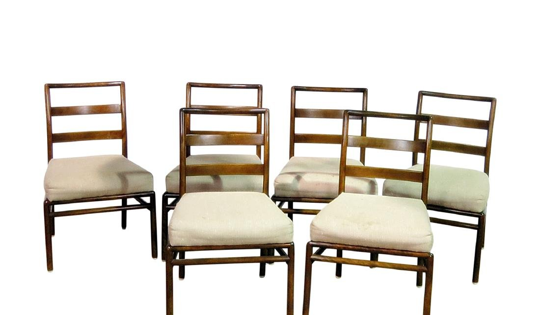 SIX ROB JOHNS GIBBINGS for WIDDICOMB DINING SIDE CHAIRS