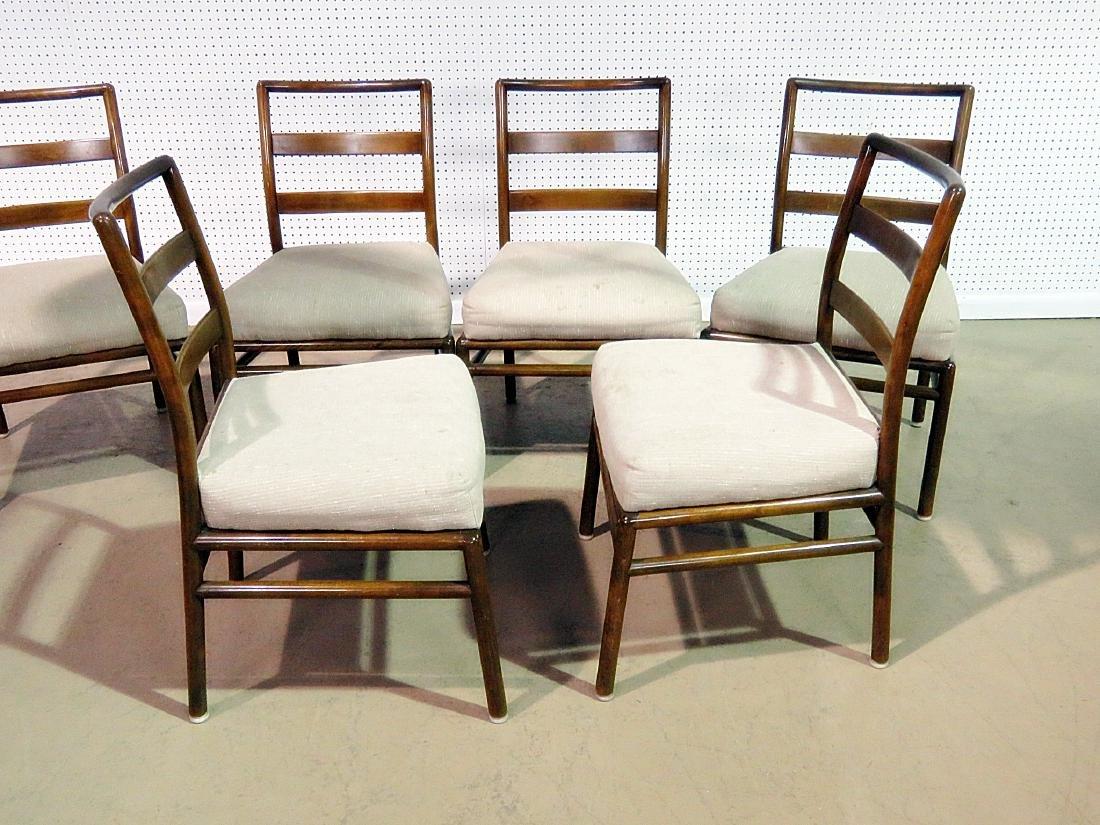 SIX ROB JOHNS GIBBINGS for WIDDICOMB DINING SIDE CHAIRS - 4