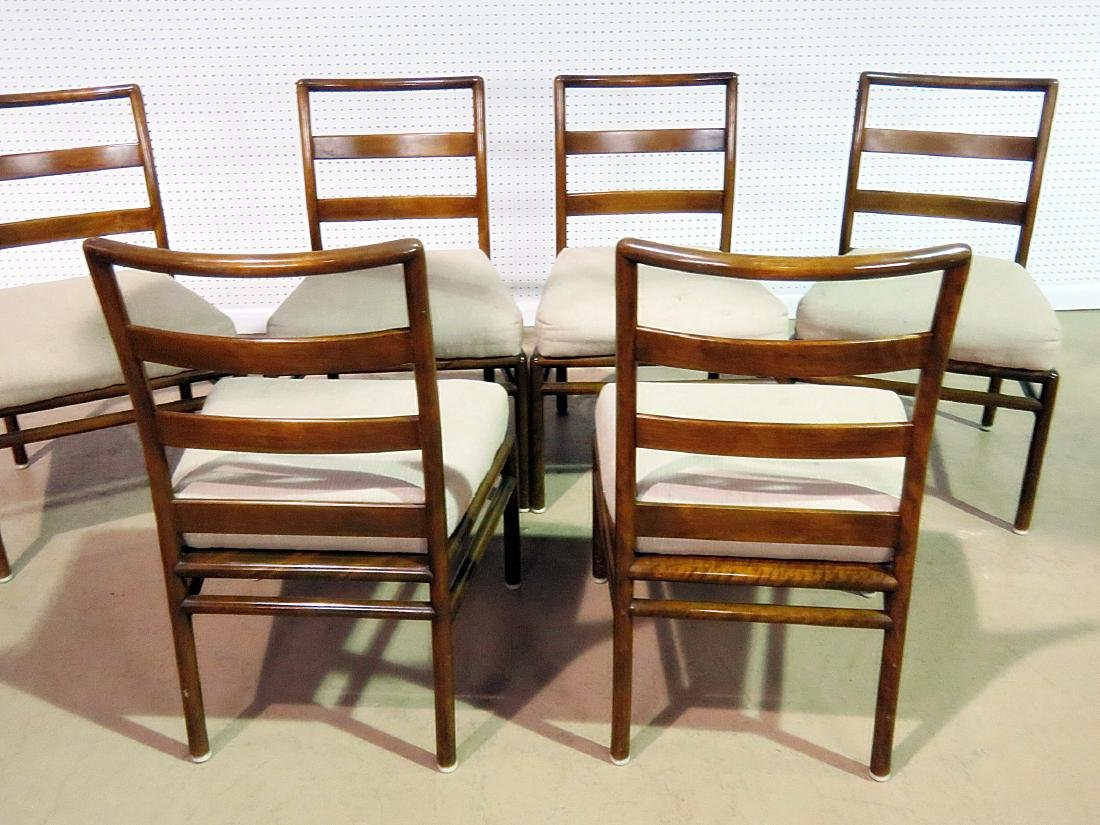SIX ROB JOHNS GIBBINGS for WIDDICOMB DINING SIDE CHAIRS - 5