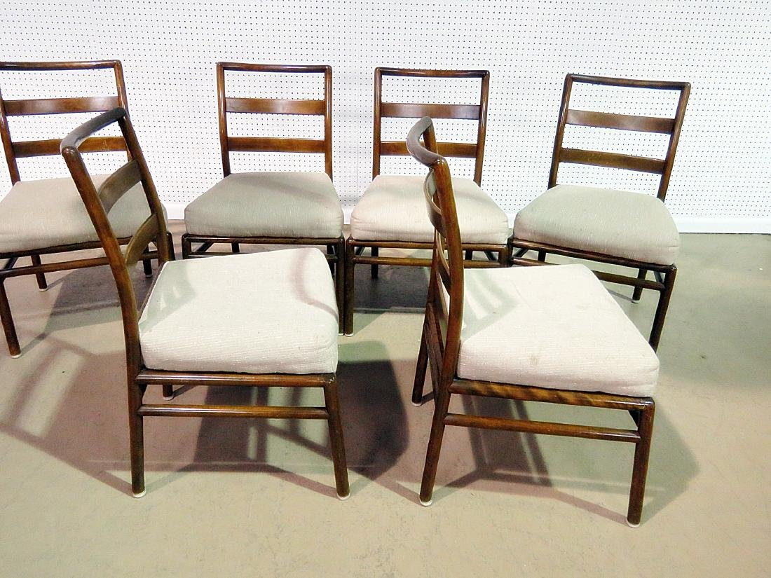 SIX ROB JOHNS GIBBINGS for WIDDICOMB DINING SIDE CHAIRS - 6