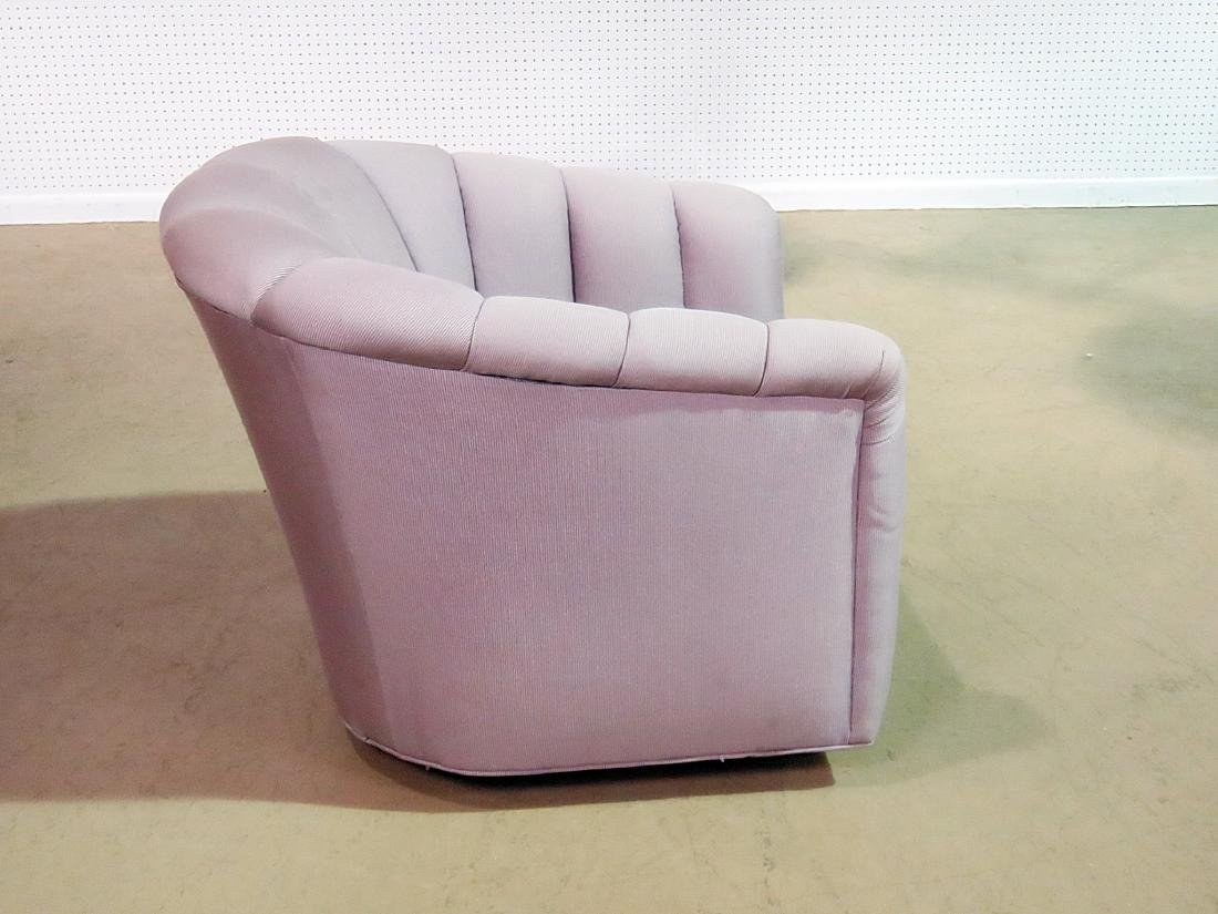 CUSTOM MCM UPHOLSTERED CLUB CHAIR - 2