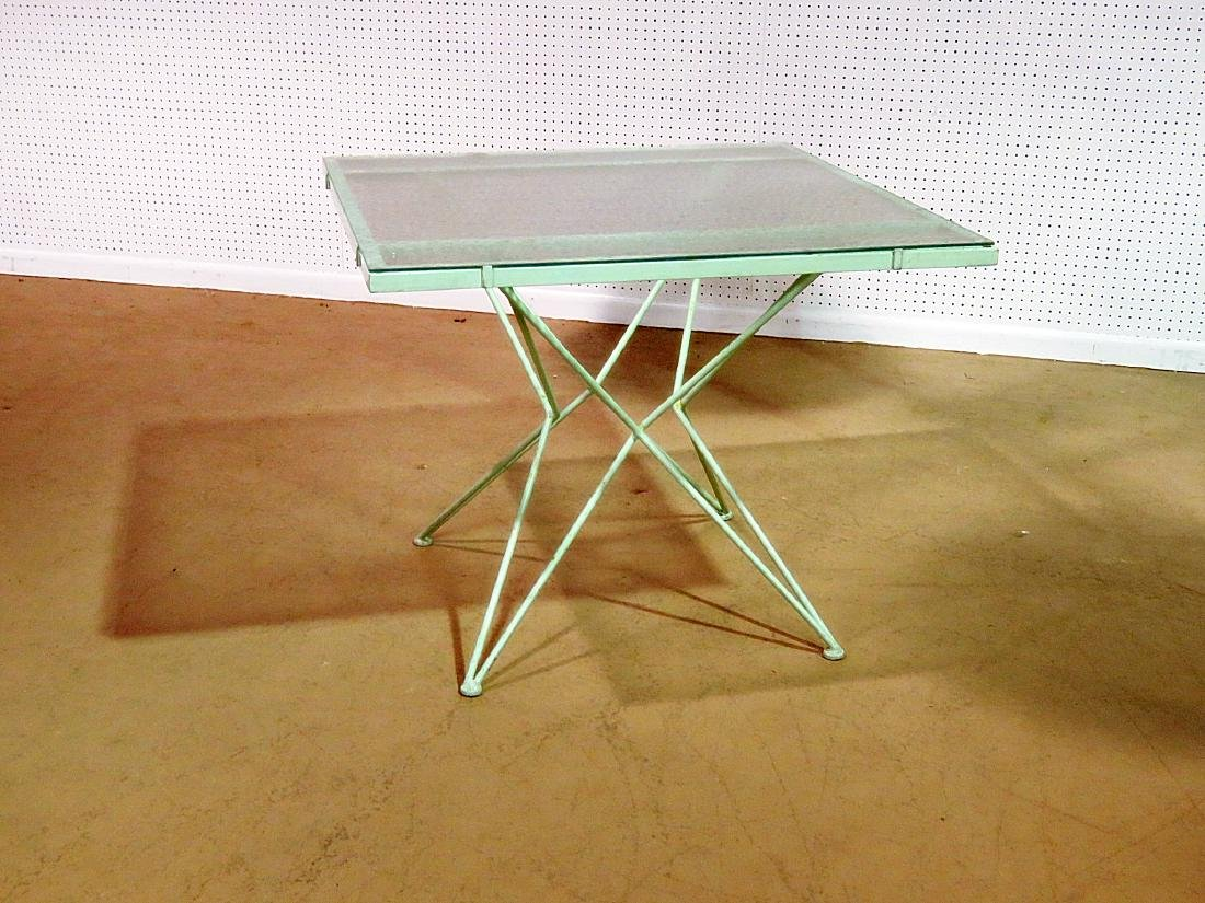 ATOMIC DESIGN DINING TABLE attributed WOODARD - 2