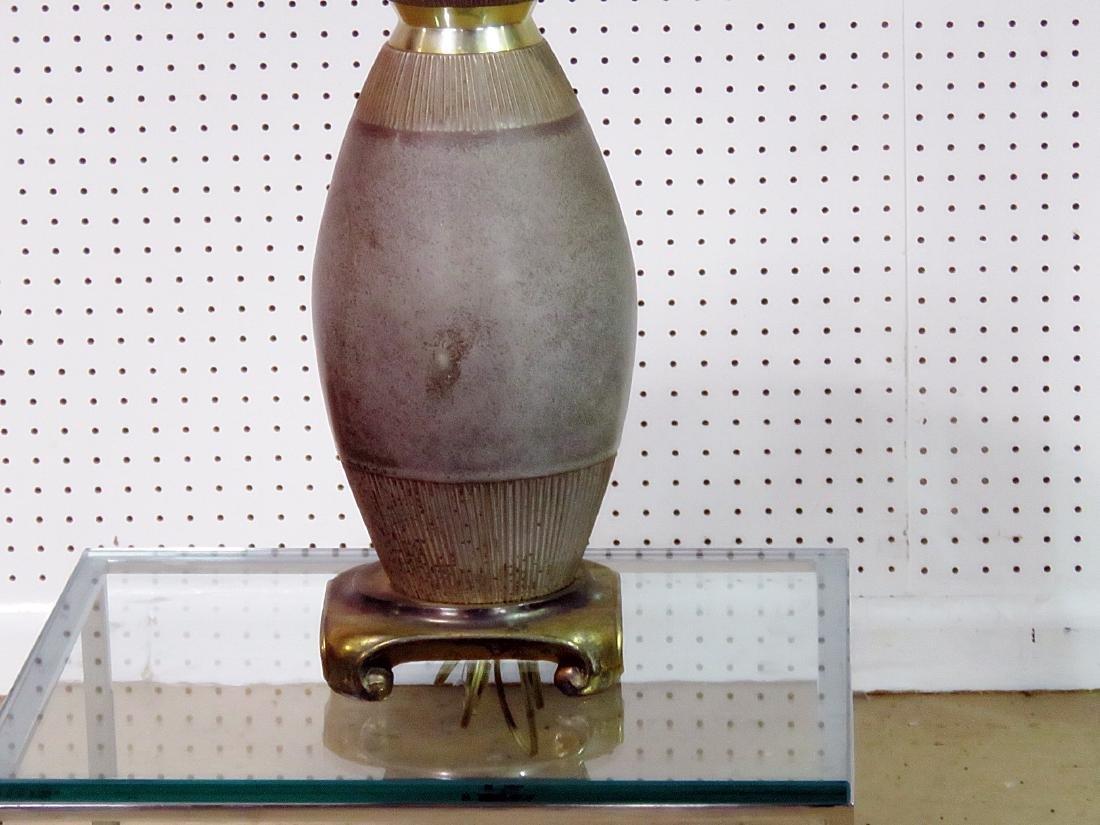 MODERN POTTERY LAMP - 2