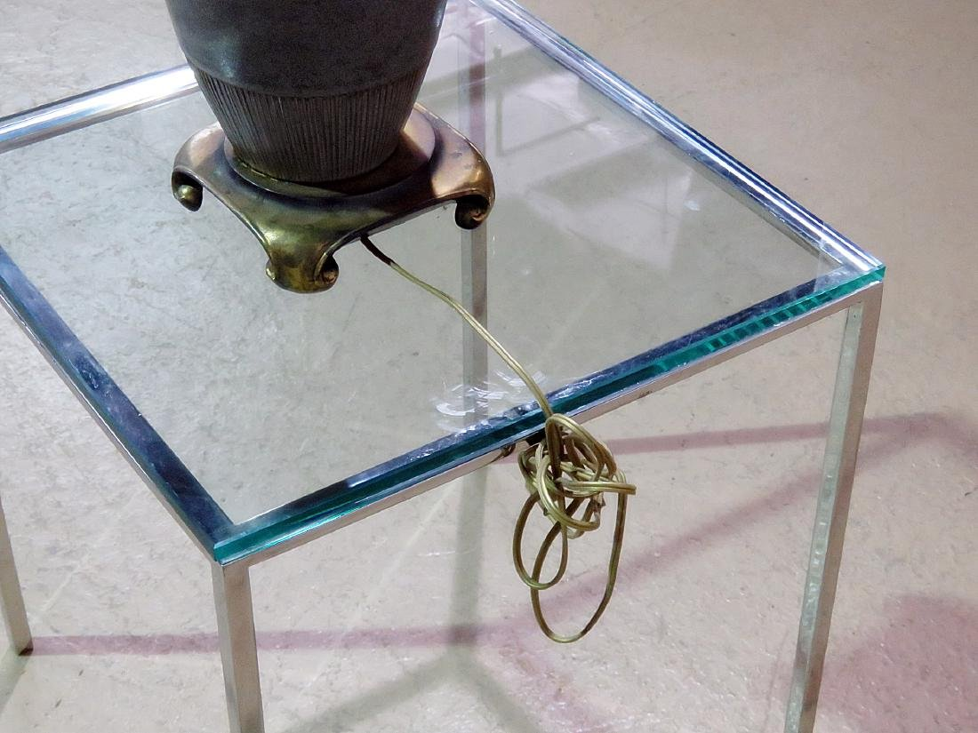 MODERN POTTERY LAMP - 5