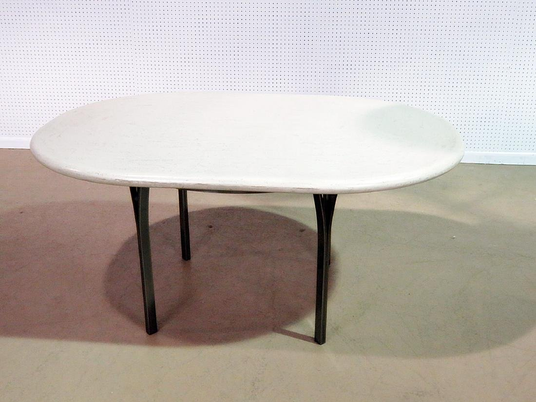 CUSTOM STAINLESS STEEL DINING TABLE - 2