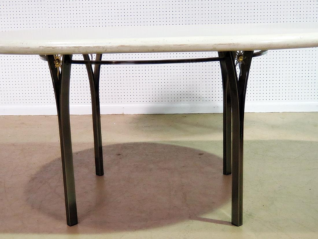 CUSTOM STAINLESS STEEL DINING TABLE - 3
