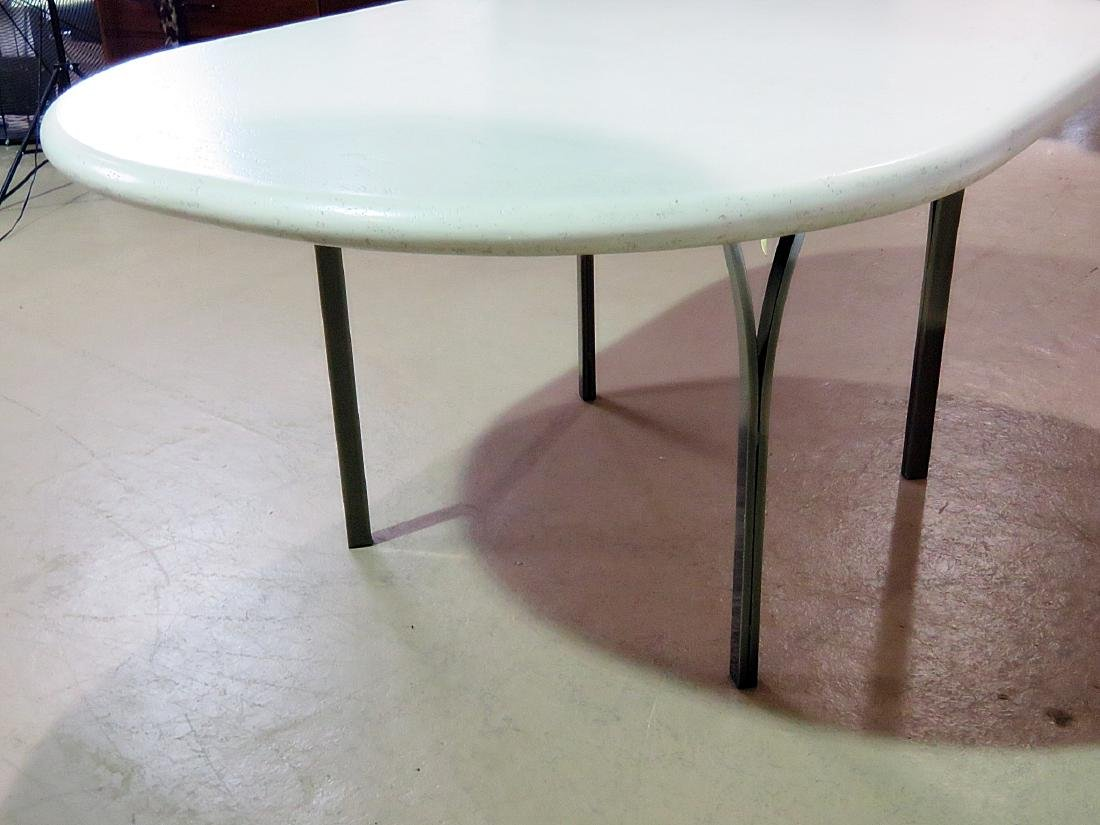 CUSTOM STAINLESS STEEL DINING TABLE - 6