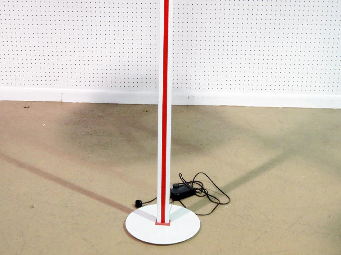 MID CENTURY MODERN TIFFANY STYLE FLOOR LAMP - 2