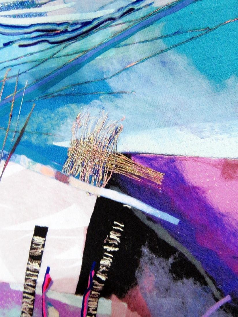 """SIGNED SMADAR A. LIVNE """"BELLS RINGING"""" ARTWORK - 4"""