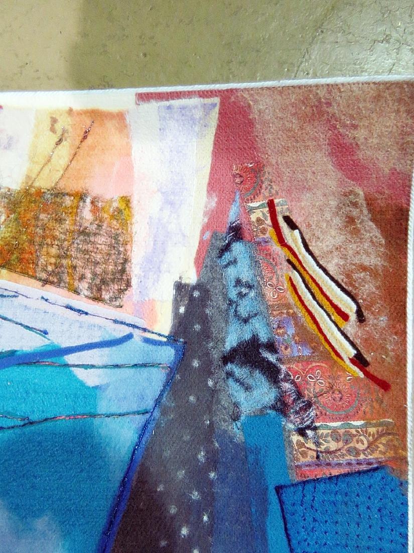 """SIGNED SMADAR A. LIVNE """"BELLS RINGING"""" ARTWORK - 5"""