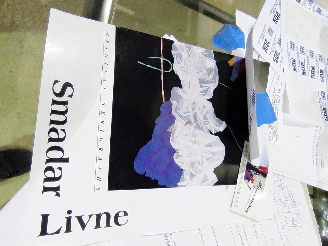 """SIGNED SMADAR A. LIVNE """"BELLS RINGING"""" ARTWORK - 7"""