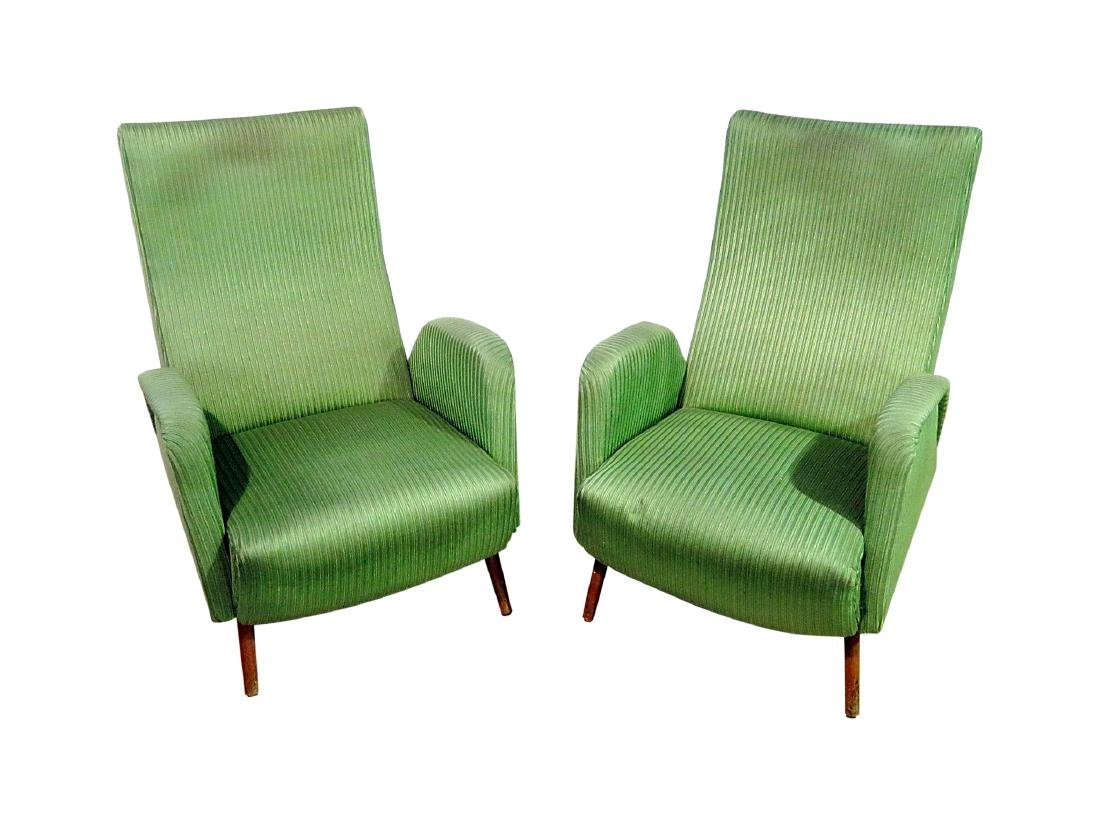 Pair ZANUSO STYLE ARM CHAIRS