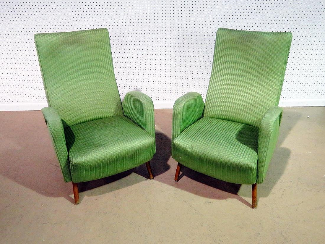 Pair ZANUSO STYLE ARM CHAIRS - 2