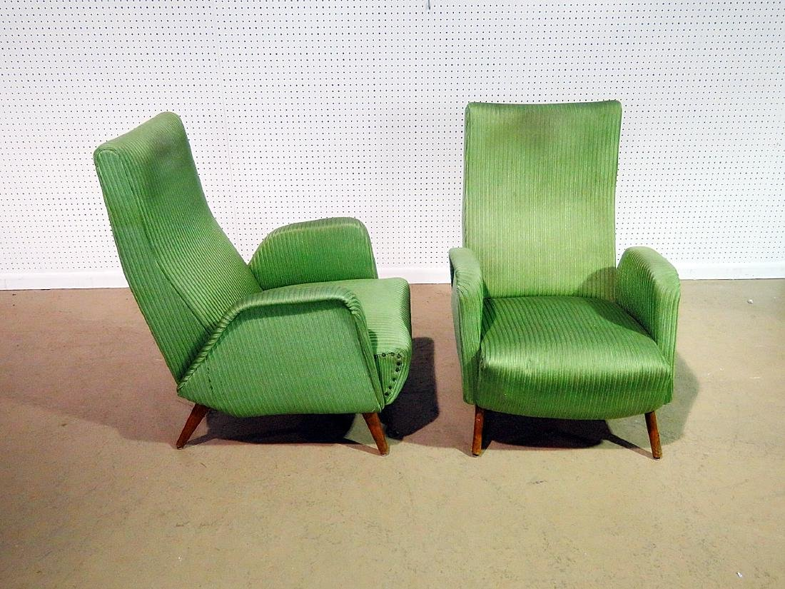 Pair ZANUSO STYLE ARM CHAIRS - 3