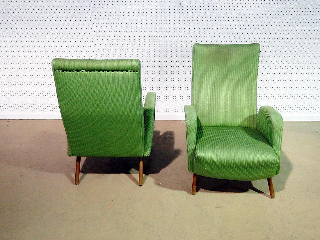 Pair ZANUSO STYLE ARM CHAIRS - 4