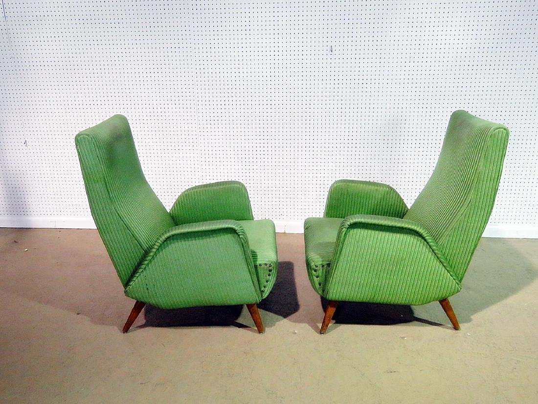 Pair ZANUSO STYLE ARM CHAIRS - 6